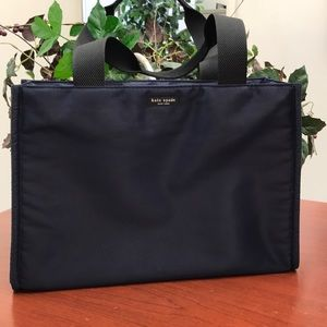 Kate Spade Large Book Tote Navy Blue